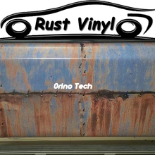 Car-styling Rust Wrap Vinyl Film Vehicle Truck Car Boat Body Foil Cover With Air Release Matte/Glossy Finished