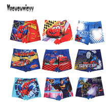 Spiderman beach shorts 2017 summer kids boys short pants for Swimming,Minions printed cartoon swimming trunks board shorts kids