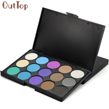 Pretty OutTop 15 Colors Women Cosmetic Makeup Palettes Neutral Warm Eyeshadow Palette Beauty Tools Gift