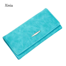 Luxury Brand Women Solid Hasp Coin Purse ladies Long Wallet Card Holders Handbag women bags purse female carteira Feminina#YHFB