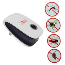 5W AC 90 ~ 220V Effective Safe Pest Repeller Electronic Ultrasonic Mouse Rat Mosquito Insect Rodent Control EU/US/AU Plug(China)