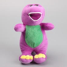 "NEW Singing Barney and Friends Barney I LOVE YOU Song Plush Toy Dolls 7"" 18 CM"
