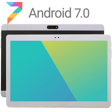 2017 Newest 10 inch Tablet PC Ocat Core 4GB RAM 32GB ROM Android 7.0 GPS 5.0MP 1280*800 IPS 3G Tablet PC 10 inch DHL Free + Gift(China)