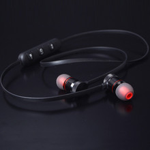 DOITOP Wireless Stereo Headphone For Mobile Phones PC Sports Waterproof Mini Bluetooth Headset Metal Earphone Magnetic Earpiece(China)