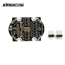Kingkong 90GT Spare Part 3A Blheli_S Dshot 600 4 In 1 2-4S Brushless ESC For RC Multirotor Motor RC Toys Parts(China)