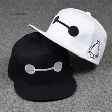 SELLWORLDER Adults & Kids 3Style Big hero 6 Baymax Baseball Caps 2017 Cartoon Character Hats & Caps