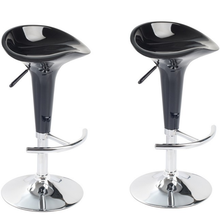 2 pieces Las Vegas white bar stool Black Bar Chair For Drinking Ship From ES