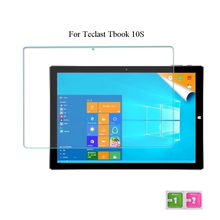 Tempered Glass For Teclast Tbook 10S Film 10.1 Inch Tablet PC Screen Protector Film 2.5D Edge 9H Transparent Ultra-thin
