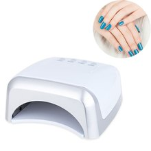 White Nail Gel Lamp Convenient 60W UV / LED Dual Purpose High Power Manicure Tool High Quality LED Phototherapy(China)