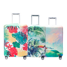Buy Fashion New travel luggage suitcase protective cover elastic luggage cover Women Dust Trolley cover Cases 18 32inch for $12.32 in AliExpress store