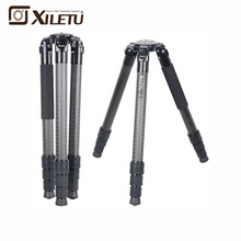 XILETU L404C Luxury Carbon Fiber Tripod Bird Watching Without Mid-Axle 40mm Large Tube for Digital Camera Video Camcorder F21236