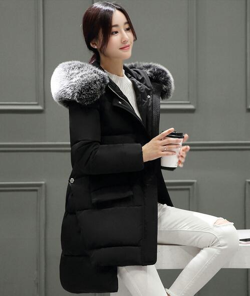 2017 Plus size M- 3XL wadded jacket female women cotton-padded jacket coat winter long cotton-paddedОдежда и ак�е��уары<br><br><br>Aliexpress