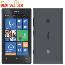 "Original phone Nokia Lumia 520 cell phone Dual core 8GB ROM 5MP GPS Wifi 4.0"" IPS unlocked windows phone"