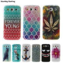 For Coque Samsung Galaxy S3 Case Silicone Transparent TPU Soft Phone Case For Samsung Galaxy S3 Neo Case Cover Cartoon Animals(China)