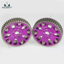 CAM GEARS PULLEY KIT For NISSAN SKYLINE RB20 RB25 RB26 R32 R33 R34 PURPLE(China)