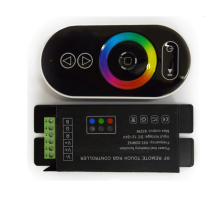 RF Remote Touch RGB Led Controller,RGB Led Driver,Touch Dimmer For 2835 3528 5050 RGB Led Strip DC12-24V
