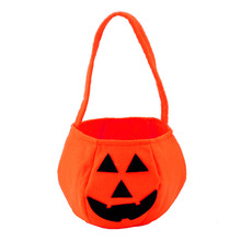 Smile Pumpkin Bag Kids Bag Children Gift Delicate Halloween Decoration Even & Party Supplies