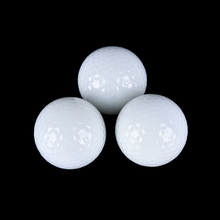 Novelty 1Pc New Night Light Gold Ball Light-up Flashing Night Light Glowing Fluorescence Golf Balls Golfing Wholesale(China)