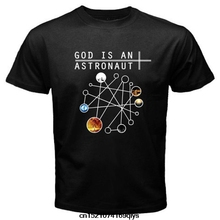 Jzecco Men God Is An Astronaut Post Rock Instrumental Band 3D Print Short Sleeve Tee Men'S 100% Cotton T Shirt / Free Shipping(China)