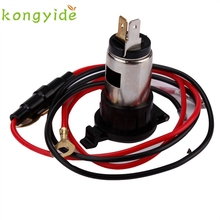 12V 120W Car Motorcycle Boat Tractor Cigarette Lighter Power Socket Outlet Plug ja10(China)