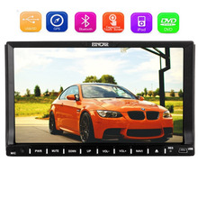 Wince 8.0 OS in Dash Car Stereo 2 Din GPS Navigation Car DVD Player Sat Nav Head unit Autoradio Bluetooth included+8GB Map Card(China)