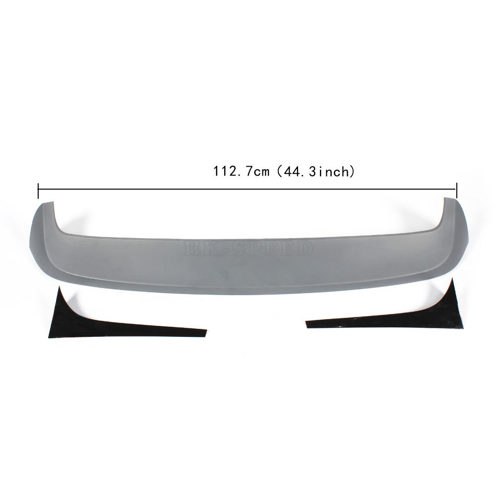 POLO ABS car rear roof boot lip spoiler wings for VW POLO &amp; GTI &amp; R 2011-2015<br><br>Aliexpress
