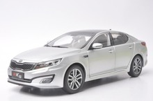 1:18 Diecast Model for Kia K5 Optima 2010 Silver Alloy Toy Car Collection Gifts(China)