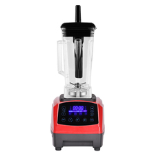 Touchscreen Digital Automatic Smart Timer 3HP BPA FREE 2L professional smoothies blender mixer juicer food fruit processor(China)