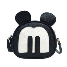 Women Messenger Bag 2017 New Lovely Mickey Women Bag Vintage Fashion Crossbody Bags Female Character Shoulder Bag LCX01
