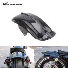 MALUOKASA Motorcycles Superior Rear Mudguard Fender Accessory For Harley Sportster Model AS 883 883R 1200 Solo Seat Bobber 94-03