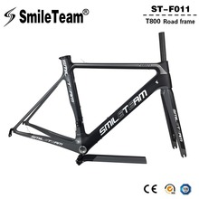 Buy SmileTeam 2018 New T800 Carbon Road Bike Frameset 700C Aero Carbon OEM Racing Bicycle Frame Fork Seatpost 2 Year Warranty for $510.00 in AliExpress store