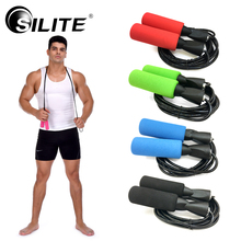 Buy SILITE 3M Jump Skipping Ropes Fast Speed Jump Ropes Crossfit Training Boxing Sports Exercises Corda 4 Colors Workout for $4.99 in AliExpress store