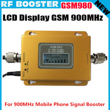 Newest Mini GSM 980 20dbm power LCD display phone booster repeater GSM repeater booster,GSM signal booster gsm booster + adapter