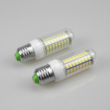 EU 220V US 110V LED Diode Lamps Bombillas Led E27 E14 Corn Shell Candle Lights SMD5730 Equivalent to 7W 12W 15W 20W 25W CFL Bulb(China)