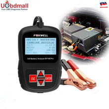 Foxwell BT100 Pro Automotive Battery Tester 12V Digital Battery Analyzer Voltmeter Capacity Tester for Flooded AGM GEL Battery(China)