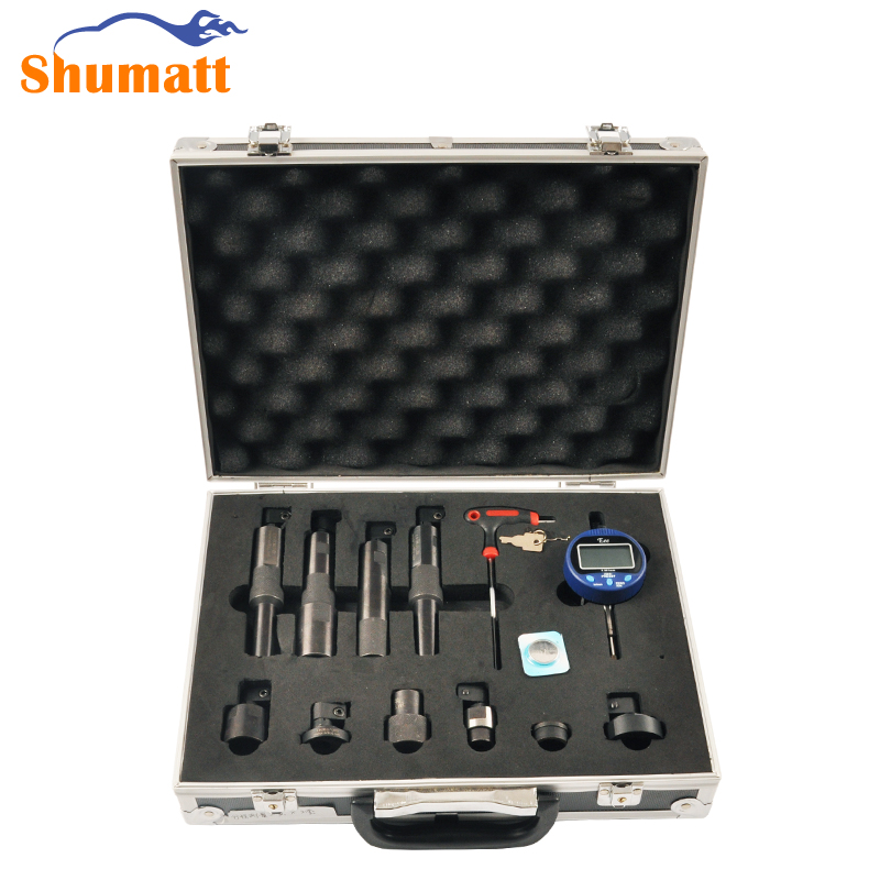 Common Rail Injector Assy Solenoid Valve Armature Lift Adjusting Washer Shims Gasket Gap Measuring Repair Tool(China)