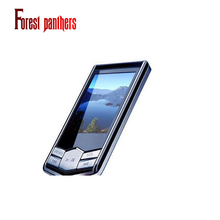Forest Panthers mp3 players real high quality 8GB music downloads Slim 1.8 LCD FM Radio Video Mp3 Player(China)