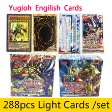 288pcs/set Yugioh Cards Game Cards Toys English Version Girl Boy Collection Toys Cards Christmas Gift Brinquedo Fighting Card