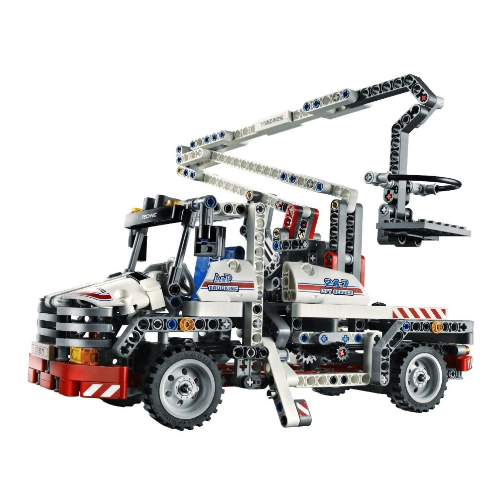 Bricks Toy  bricks China brand 3350 Compatible with Lego Technic Bucket Truck 8071<br>