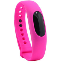 Hot Pink Sport Smart Bracelet Smartband Fitness Tracker OLED Display Anti-lost Smart Band for iPhone 4S /5/5C /5S 6 6S