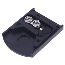 Top Deals Camera Lens Mount 410PL Quick Release Plate for Manfrotto 405 410 for RC4 Quick Release System Black