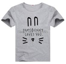 Somebunny Loves You Easter T Shirt Bunny  Kids  clothes Hipster kids clothes Cute Kids Rabbit Shirt Baby's Easter