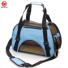 Breathable Polyester 600D Pet Carrier Comfort dog cat Travel Bag Removable Foldable Dog car seat puppy Shoulder bag ZL109-1