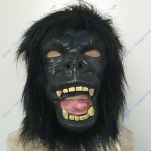 The highest selling character celebrity party Fancy Dress Ideal Classic Cosplay Latex Gorilla Mask For Carnival