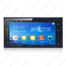 7inch Ultra Slim Android 4.4.2 Quad Core Car Media Player With GPS Navi Radio For Toyota Universal 2DIN