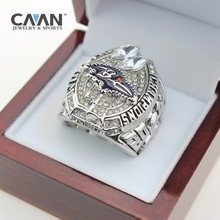 punk jewelry 2012 Baltimore Ravens Super Bowl Replica Championship Rings Mens Big Size 11 Silver plated made of stainless steel(China)