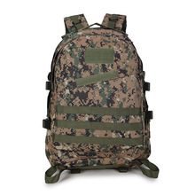 40L 3D Outdoor Sport Military Army Tactical Climbing Mountaineering Backpack Molle Camping Hiking Trekking Rucksack Travel Bag