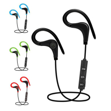 Cheap Price! Super Bass Stereo Sport Bluetooth Headphone Wireless Earphone Handsfree Headset With Microphone handsfree earbuds(China)