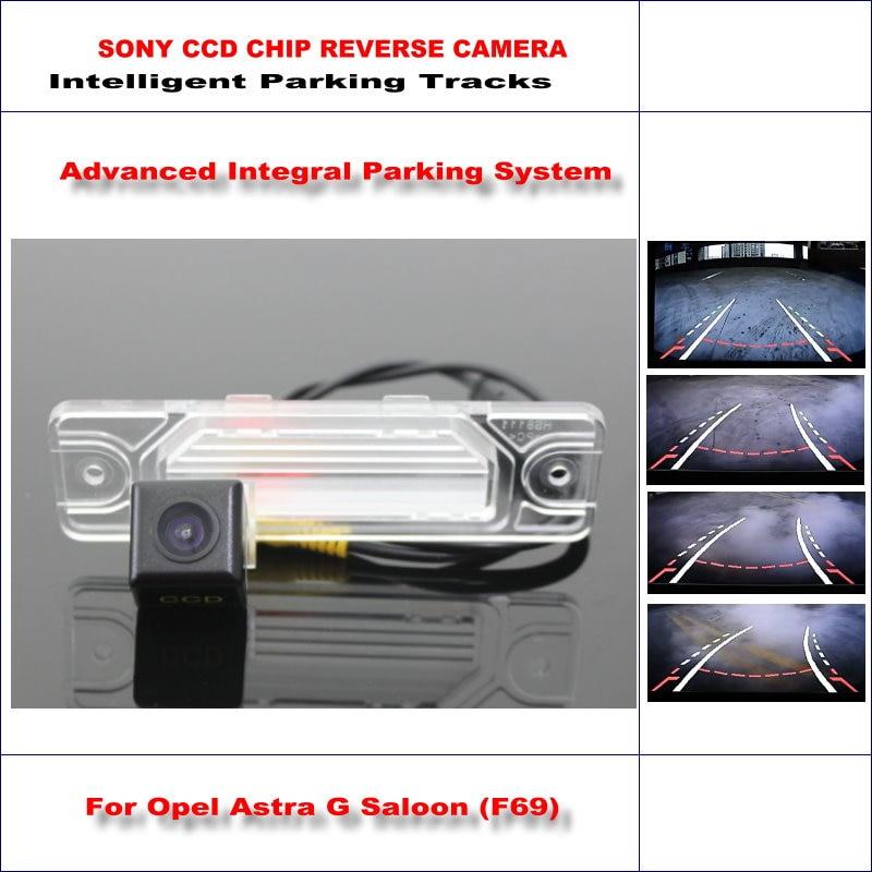 Backup Reverse Camera For Opel Astra G Saloon / Corsa B / Omega A B HD 860 Pixels 580 TV Lines Intelligent Parking Tracks<br><br>Aliexpress