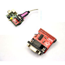 Tracking number Raspberry Pi B/B serial port expansion board RPI UART Expand Module